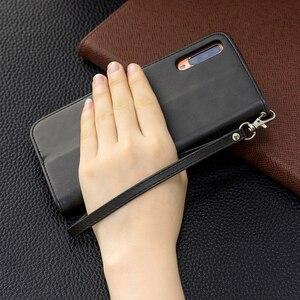 Image 4 - Винтажный Флип кожаный чехол бумажник для samsung Galaxy Note 10 Plus S10 S9 A10 A20 A30 A40 A50 A70 слоты для карт Магнитная подставка Чехол