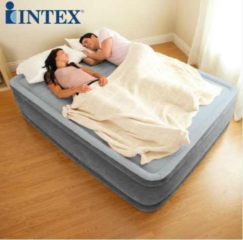 2 Person Couple Inflatable Air Bed Broaching Never Bulging No Deformation Outdoor Mattress Car Sex Pad Camping Mat  with Pump