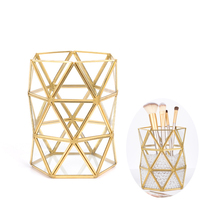 Nordic style geometric glass storage box high quality cosmetic storage box desktop organizer storage box jewelry box jewelry