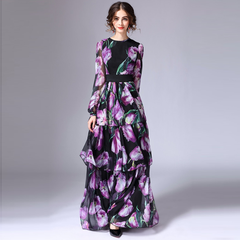 Maxi dress 2017