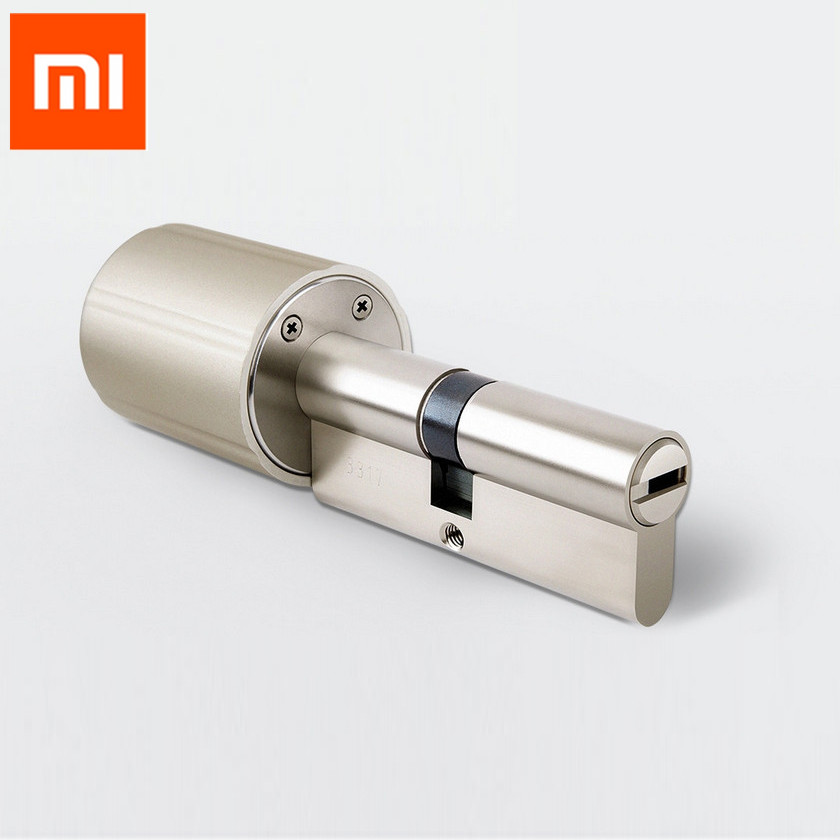 Xiaomi Vima Smart Cylindre De Serrure Intelligente Pratique Anti-vol Securtiy Serrure de Base 128-Bits w/ touches ZYJ 80-40/40