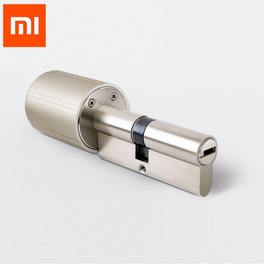 Xiaomi Vima Smart Lock Zylinder Intelligente Praktische Anti-diebstahl Securtiy Türschloss Core 128-Bit Verschlüsselung w/ schlüssel ZYJ 80-40/40