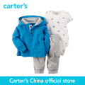 Carter's 3 pcs baby children Cotton Cardigan Set 127G054, sold by Carter's China official store