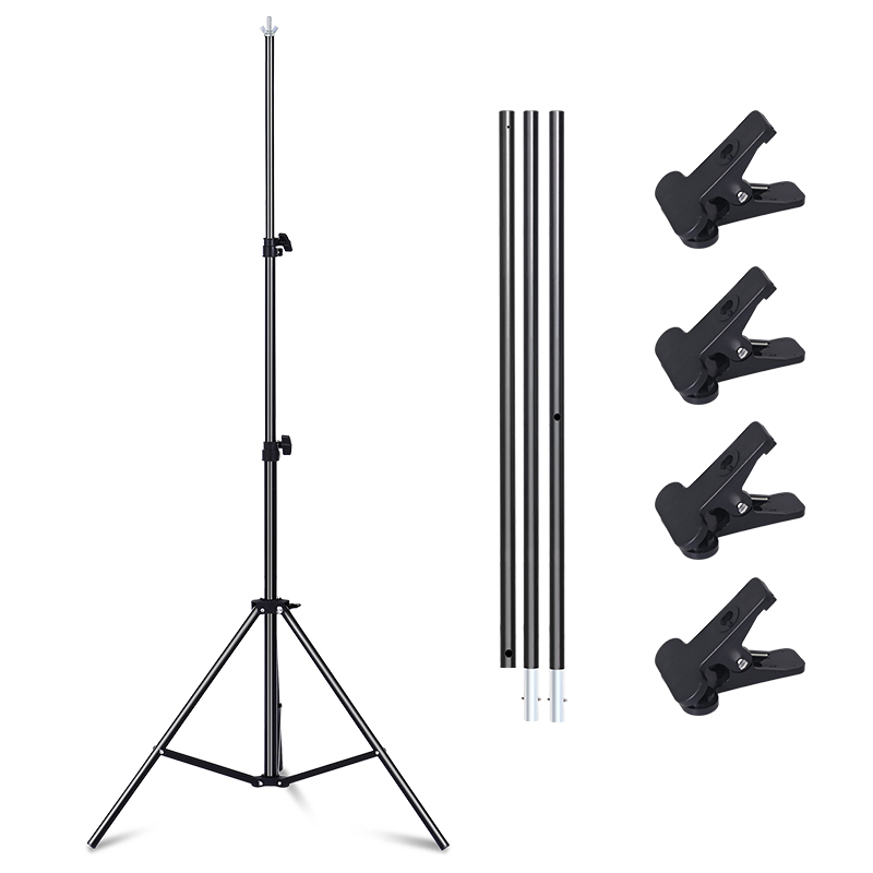 Image 3 - Professional Photography Photo Backdrops T Shape Background Frame Support System Stands With Clamps-in Photo Studio Accessories from Consumer Electronics