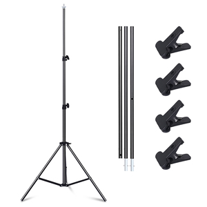Image 3 - Professional Photography Photo Backdrops T Shape Background Frame Support System Stands With Clamps