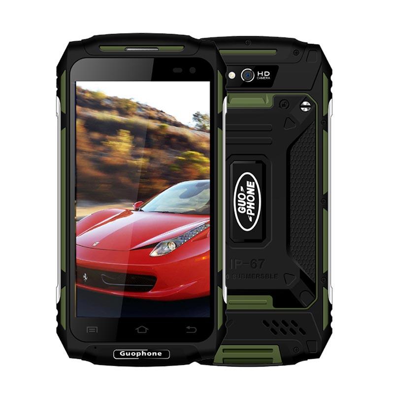 GUOPHONE X2 IP67 Impermeabile shockproof Del Telefono Mobile 5500 mah 5.0 HD MTK6737 Quad Core 2 gb + 16 gb android 6.0 8MP GPS 4g SmartPhone - 2