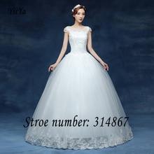 Free shipping 2016 new design White Vestidos De Novia Bride Princess Wedding Dress Wedding Ball Gowns Cheap Wedding Frocks HS228