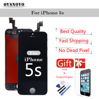 LCD Digitizer Assembly Display For IPhone 5s 4s 5 5c SE Touch Screen Replacement Parts Black