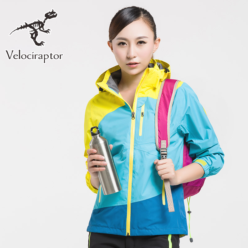 Womens Hiking jacket Waterproof Outdoor Windbreaker Warm Ski Camping  Winter 2 pieces Fl ...