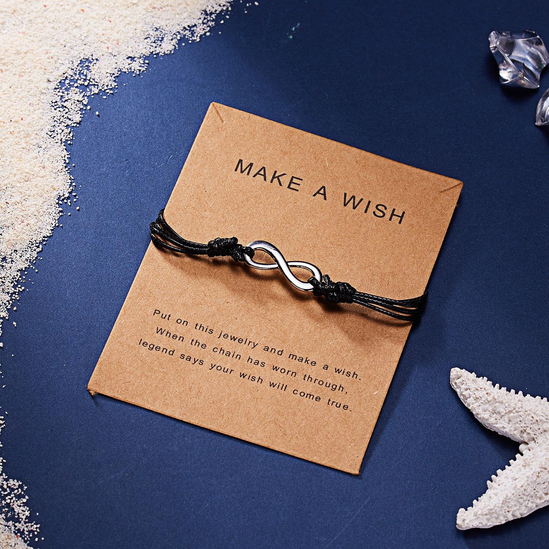 RINHOO тонкий золотой браслет в форме сердца, звезды, короны, его и ее регулируемые красные веревочные браслеты, семейная пара, подарок дружбы