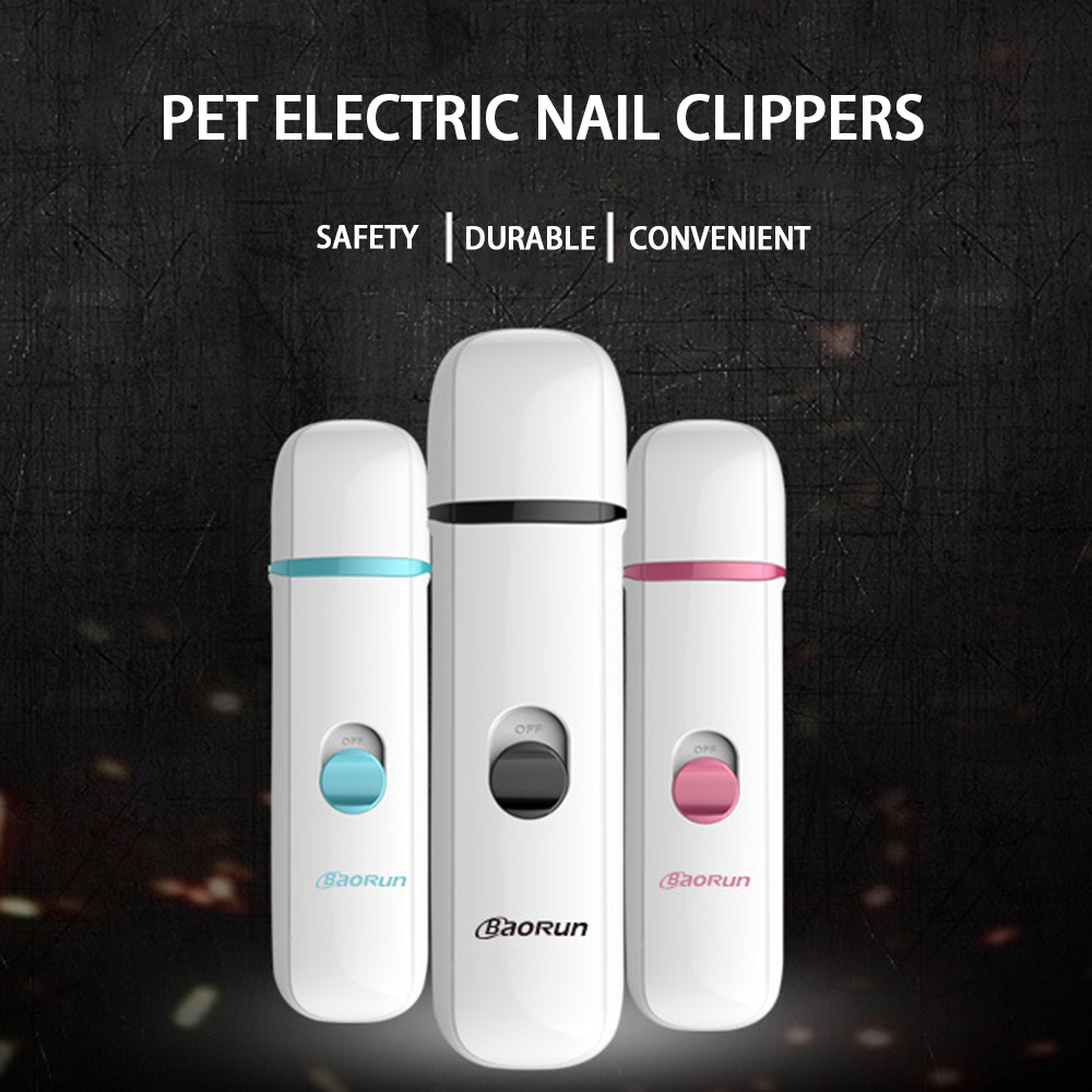 Electric Dog Cat Pet Claw Toe Nail Trimmer Tool Care Grooming Grinder Clipper Without Battery