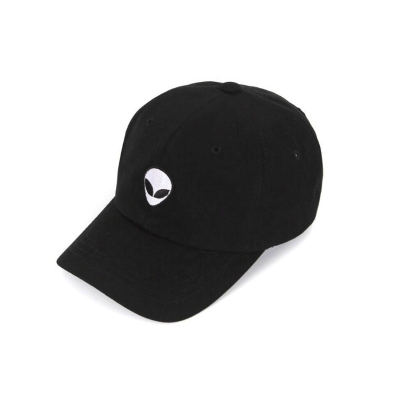 New Damn Alien Embroidery   Baseball     Cap   Cotton Adjustable Outdoor Hat Lovers Hat