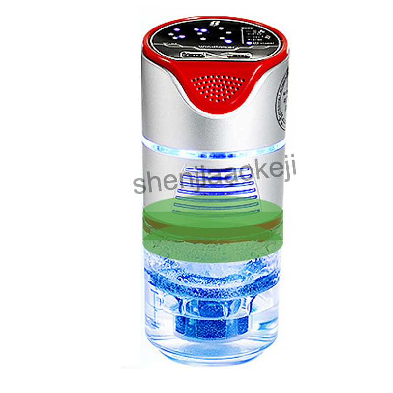 12V 5W Car Air Purifier Removal Formaldehyde PM2.5 Smell Car Internal Fresh Air Water Filtration Negative Ions Humidifier solar energy home car dual use air purifier aromatherapy machine car purifier sterilization formaldehyde odor removal purifier
