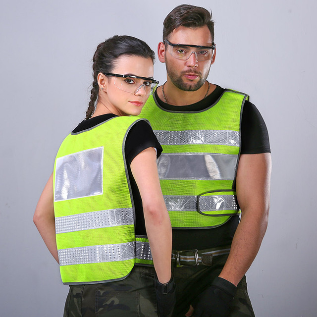 Reflective vest car annual review of fluorescent clothing vest construction construction of traffic safety protection jacket 2