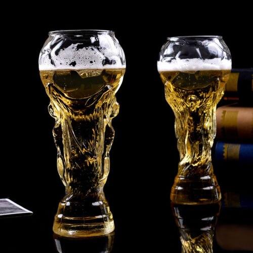Taza de cerveza de cóctel con forma de trofeo de cristal de borosilicato de moda de 2018 disponible para la oficina en casa de la boda del Club Senior LuKLoy LED luces colgantes espejo bola de cristal fuegos artificiales lámpara colgante para desván restaurante Bar Comedor Cocina isla