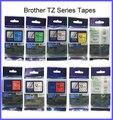 6 шт смешанных цветов choosable Brother 12 мм tze tze131  TZe231  TZe 431  TZ 631 tz-731 tze 831 используется для принтеров серии PT