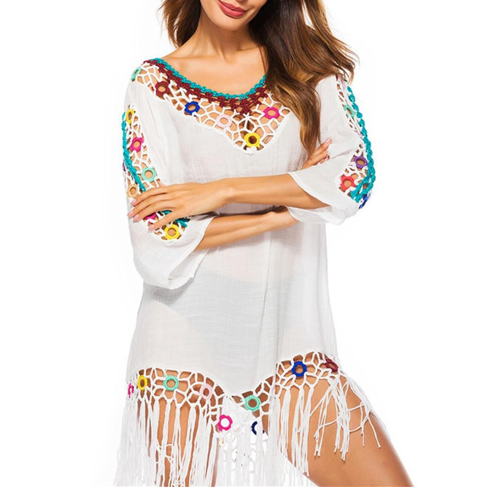 2018 Chiffon Tunics for Beach Women Swimsuit Cover up Woman Swimwear Beach Cover up Beachwear Pareo Beach Dress Saida de Praia