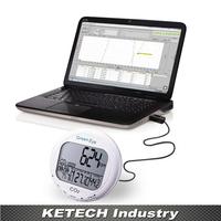 Indoor Desktop CO2 Detector measuring range 0~9999ppm AZ7798