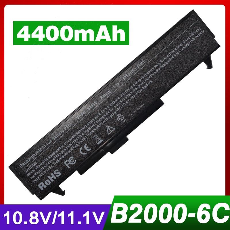 4400mAh laptop battery for HP B2000 LG E200 E210 E300 V1 T1 LS E310 Series LB52113E LB62115B LB62115E LB54113B