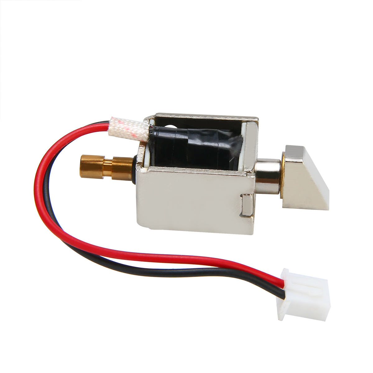 DC12V 0.5A маленькие магнитные электромагнитный замок Электрический Управление ящика шкафа замок Push-Pull цилиндрический доступа Управление