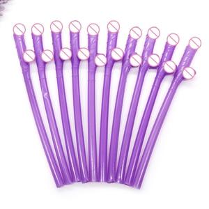 Image 3 - 10 шт., пластиковые соломинки для пениса