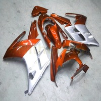 motorcycle hull for FJR1300 2002 2003 2004 2005 2006 FJR 1300 fairing motorcycle plastic cover free Bolts orange silver