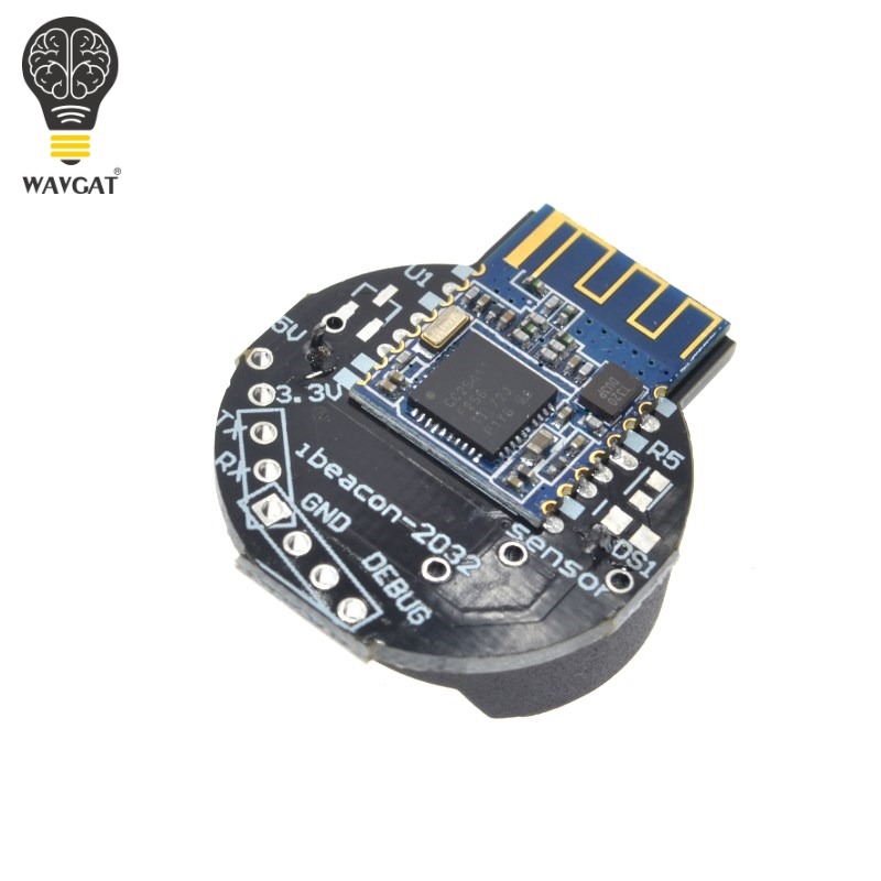 WAVGAT Bluetooth 4.0 iBeacon Module BLE Support Near-field Positioning Sensor Wireless Acquisition