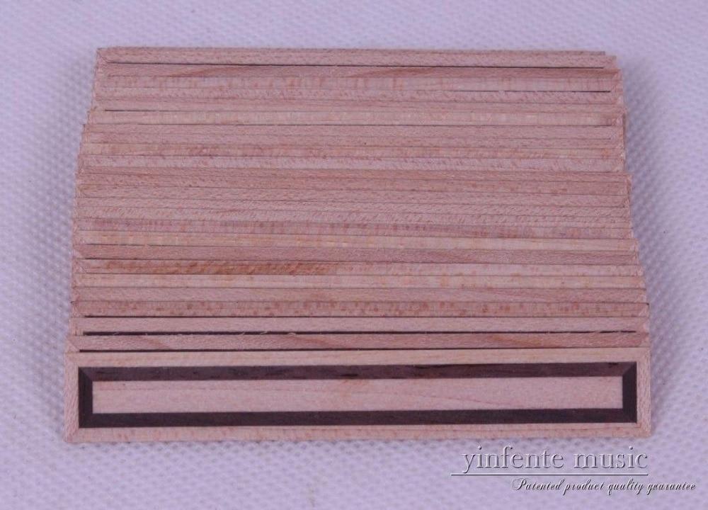 10pcs Classical Guitar Bridge Tie Blocks inlay wood Real Wood top parts new #2 two way regulating lever acoustic classical electric guitar neck truss rod adjustment core guitar parts