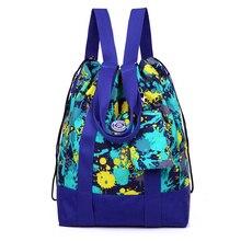 Женщины рюкзак нейлон Водонепроницаемый backpacklady Женская Рюкзаки Женский Повседневная сумка Mochila Feminina