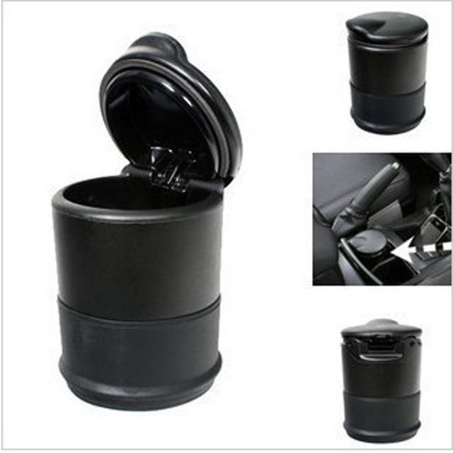 Durable Portable Car Cigarette Ashtray Set Black Ceniceros Personality Mini Carro Cinzeiro Universal Car Styling Accessories