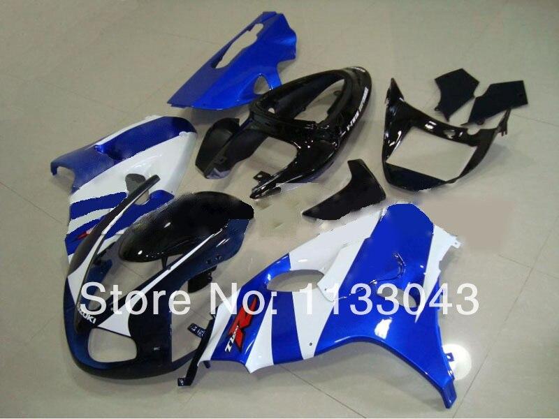 Комплект обтекателей для SUZUKI TL1000R 98 99 00 01 02 03 TL1000 R TL 1000R 1000 R 1998 1999 2001 2003 синие белые обтекатели