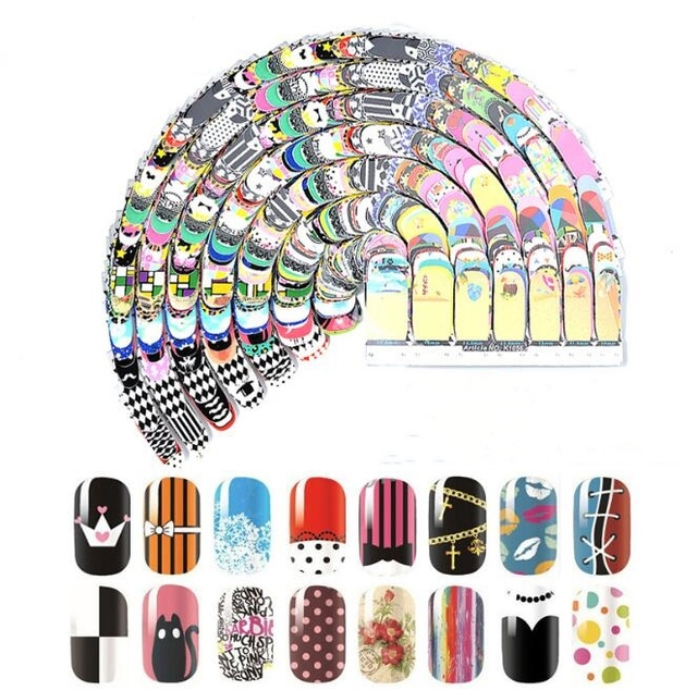 1pack 3d Plant Animal Nail Art Hot Stamping Nail Art Stickers Nail