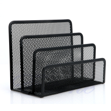 Black Document Desk Mesh Letter Sorter Mail Tray Office File Organiser Business
