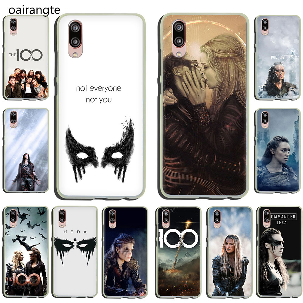 Heda Lexa The 100 TV Show Hard Phone Case for Huawei P30 P20 P8 P9 P10 Plus Lite Mini 2015 2016 2017 Pro smart 2019 image