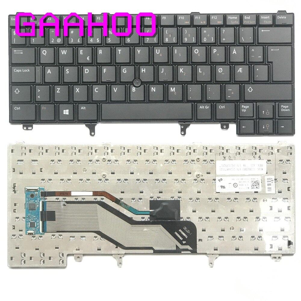 Brand new original keyboard NW Norway for DELL LATITUDE E6420 E6430 E6320 E5420 E5430 E6220 E6230 /w Track point keyboard