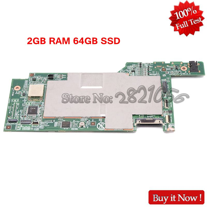 NOKOTON 5B20G99935 For Lenovo Miix3 1030 Tablet Motherboard Atom Z3735F 1 33Ghz CPU 2G Memory 64GB
