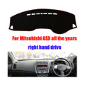 Car dashboard Covers mat For Mitsubishi ASX all the years right hand drive custom dashmat car dash pad auto accessories