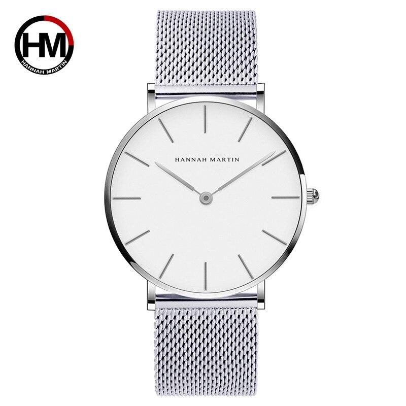 Japan Quartz Ultra Thin Wrist Watch Steel Mesh Male Watch  Clock Xfcs
