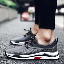 2018 new high quality Popular fashion Breathable Mesh Comfortable Lazy shoes Men adult Leisure  5