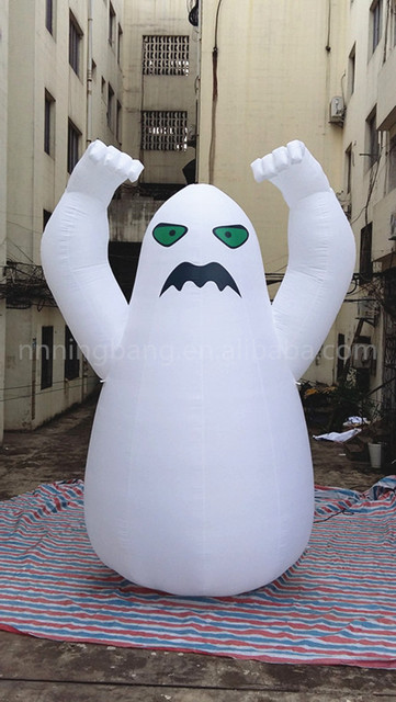 free shipping 3m high inflatable ghost for halloween decoration
