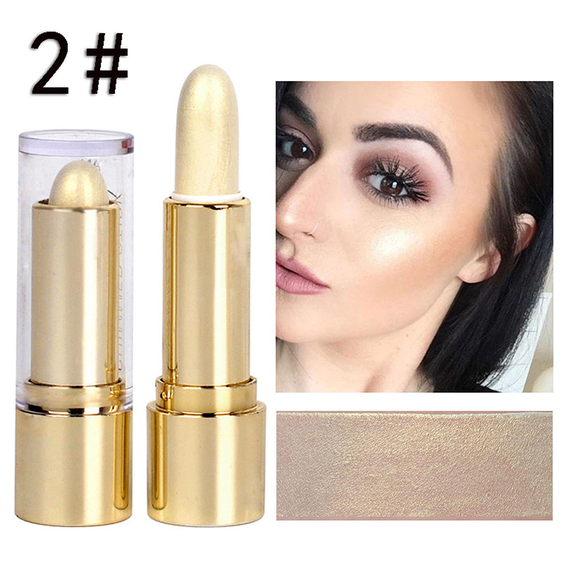 1Pcs Pro Face Highlighter Stick Face Concealer Contouring Bronzers Highlighter Pen
