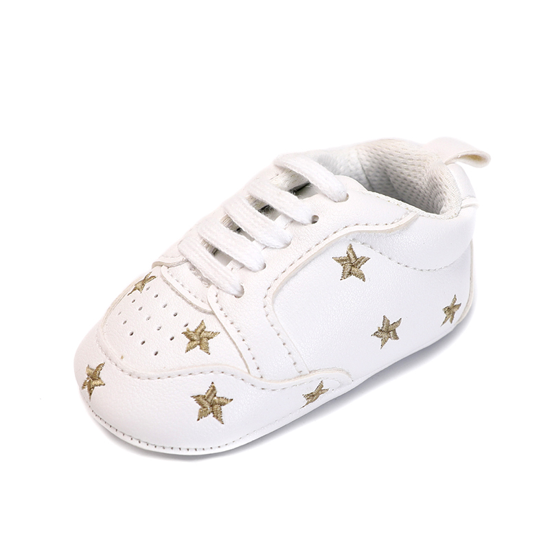 Baby boy girls shoes newborn new born first walker heart ...