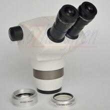 Новый ArriveScientific 4X-100X бинокулярный зум стерео микроскоп головка для электроники