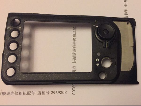 新バッテリーバックカバー背面ケースニコン D800 カメラの交換修理部品  グループ上の 家電製品 からの カメラ LCD スクリーン の中 1
