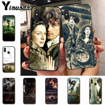 outlander hot tv jamie fraser phone Case for xiaomi mi 8 9 9t 10pro A1 A2 redmi 7 8 8a 9a note5 7 note8pro 8t note9s 9pro case image