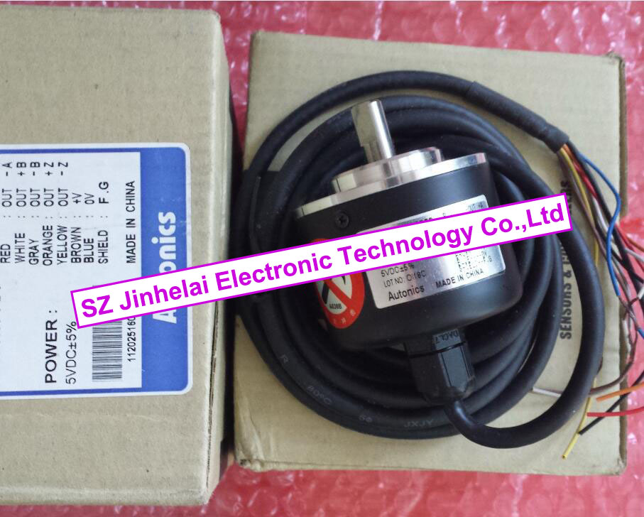 E50S8-1024-6-L-5  New and original  AUTONICS  ENCODER  12-24VDC new and original e3x da11 s omron optical fiber amplifier photoelectric switch 12 24vdc