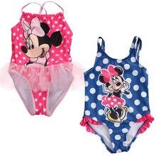 2017 font b Kids b font Swimwear Cartoon Mouse Print Toddler Girls font b Swimsuit b