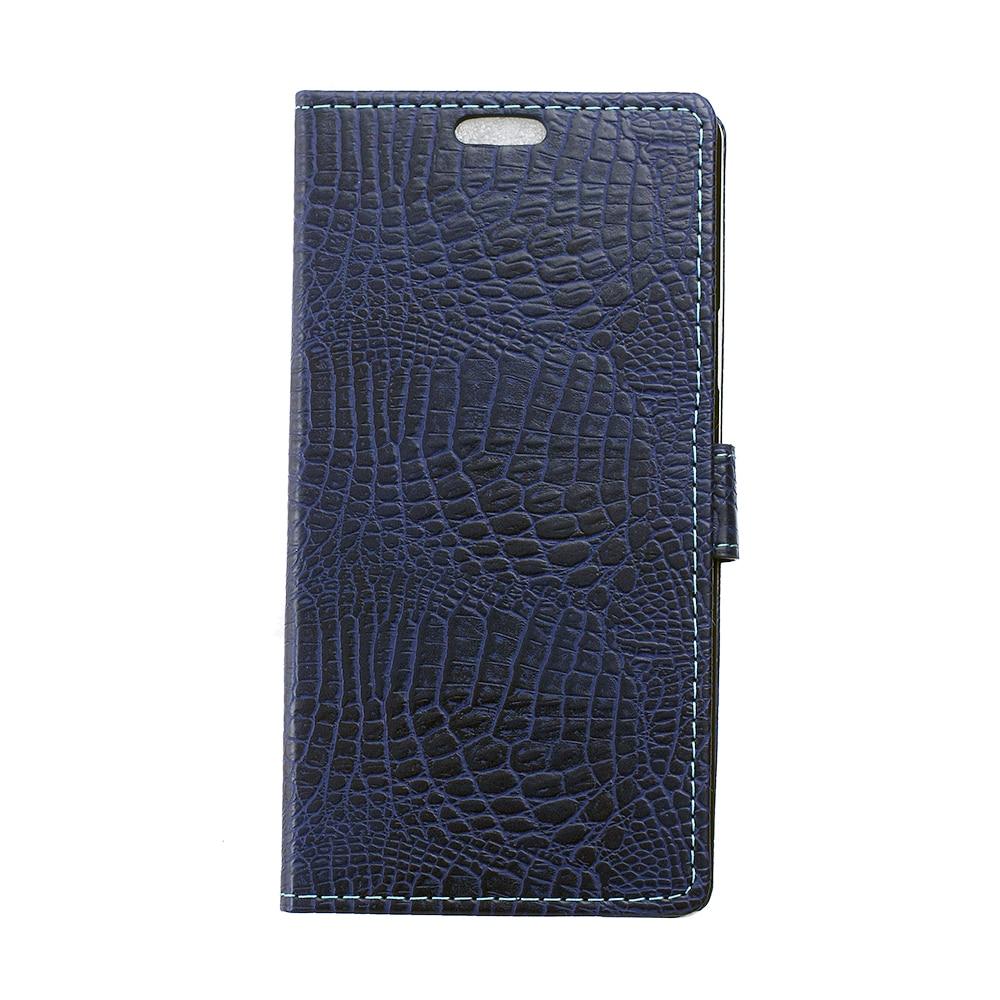 for Alcatel Idol 3 Leather Case Crocodile Texture Wallet Leather Case for Alcatel Idol 3 (5.5)