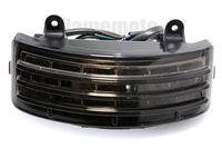 XYIVYG LED Auxiliary Tri Bar Fender Tail Brake Light w Signal For Harley Road King FLHT