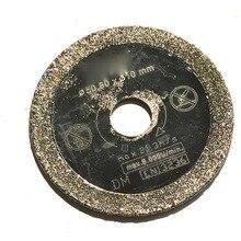 Профессиональное качество, 50*10*1,0*5 мм, алмазные пилы с гальваническим покрытием для мини-пилы ТЧ, стекла/плитки/процилиновой резки